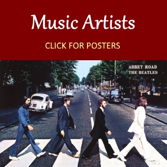 musical artist posters