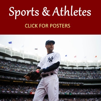 Sports athletes posters