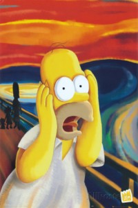 Homer Simpson humor posters