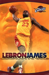 lebron james athlete